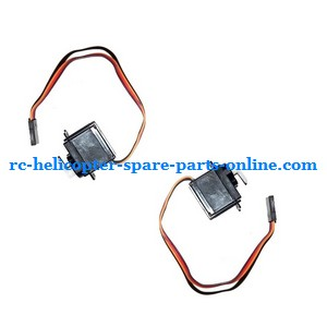 GT Model 5889 QS5889 RC helicopter spare parts SERVO (1x left + 1x right) 2pcs