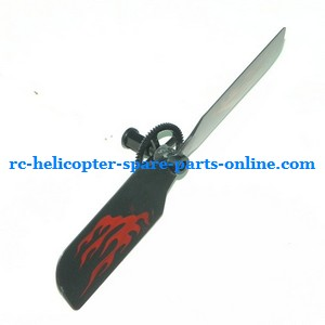 GT Model 8004 QS8004 RC helicopter spare parts tail blade + tail driven gear (set)