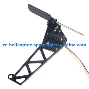 GT Model QS8005 RC helicopter spare parts tail blade + tail motor + tail motor deck (set)