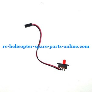 GT Model QS8005 RC helicopter spare parts on/off switch wire