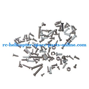 GT Model QS8005 RC helicopter spare parts screws set