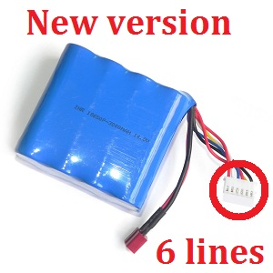 GT Model 8008 QS8008 RC helicopter spare parts battery (New version)