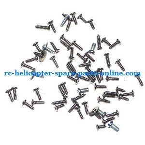 GT Model 8008 QS8008 RC helicopter spare parts screws set