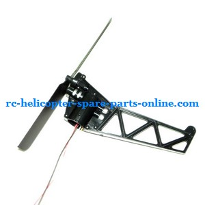 GT Model 8008 QS8008 RC helicopter spare parts tail blade + tail motor + tail motor deck (set)
