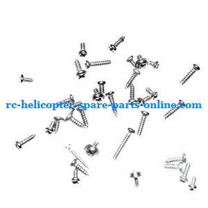 GT Model 9016 QS9016 RC helicopter spare parts screws set