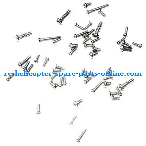 GT Model QS 9012 9019 RC helicopter spare parts screws set
