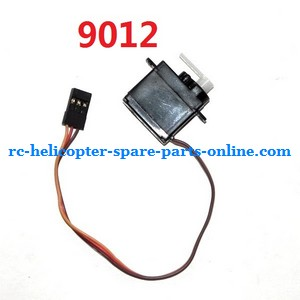 GT Model QS 9012 RC helicopter spare parts SERVO (9012)