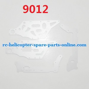 GT Model QS 9012 RC helicopter spare parts metal frame set (9012)