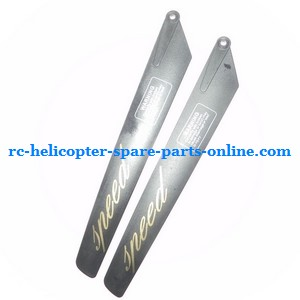 GT Model QS 9012 9019 RC helicopter spare parts main blades (Black)