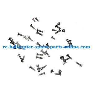 SYMA S022 S34 RC helicopter spare parts screws set
