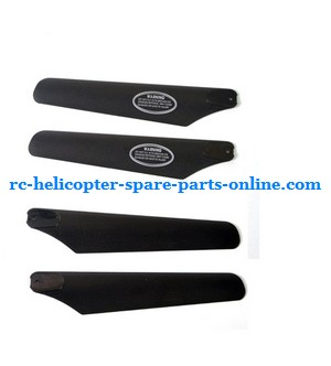 SYMA S022 S34 RC helicopter spare parts main blades (2x upper + 2x lower)