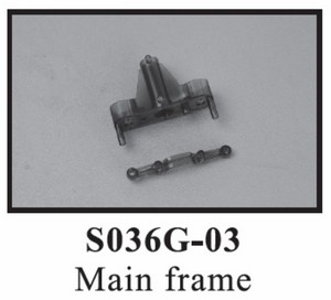 SYMA S036 S036G RC helicopter spare parts main frame