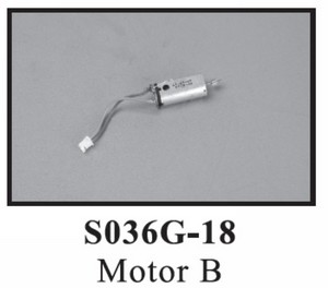 SYMA S036 S036G RC helicopter spare parts main motor (short wire)