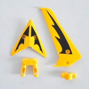 SYMA S107 S107G S107I RC helicopter spare parts tail decorative set (Yellow)
