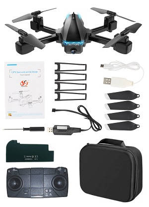 S177 GPS 5G WIFI camera RC drone with 1 battery and portable bag RTF