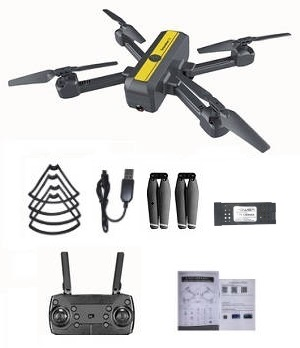 New Hot S18 4k WIFI FPV dual camera drone with 1 battery, RTF