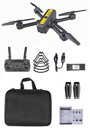 New Hot S18 4k WIFI FPV dual camera drone with 1 battery and portable bag, RTF