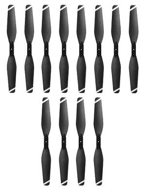 S18 BQ-18 D8 WD GX-Magic Traveler RC drone quadcopter spare parts main blades 3sets (Black)