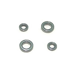 SYMA S301 S301G RC helicopter spare parts bearing set 2x big + 2x small (set)