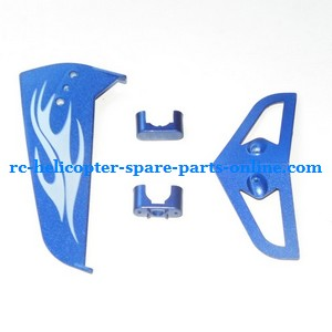 SYMA S031 S031G S31(2.4G) RC helicopter spare parts tail decorative set (S031G Blue)