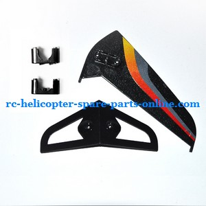 SYMA S031 S031G S31(2.4G) RC helicopter spare parts tail decorative set (S31 Black)
