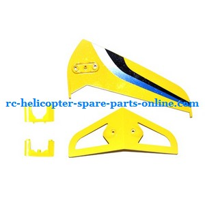 SYMA S031 S031G S31(2.4G) RC helicopter spare parts tail decorative set (S31 Yellow)
