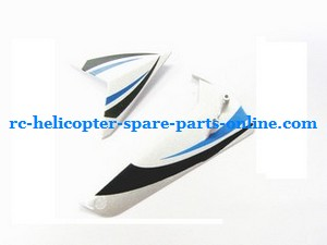 SYMA S032 S032G S32(2.4G) RC helicopter spare parts tail decorative set (S032G Blue)
