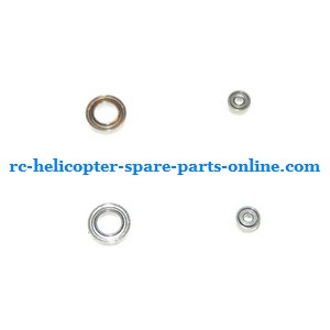 SYMA S032 S032G S32(2.4G) RC helicopter spare parts bearing set 2x big + 2x small (set)