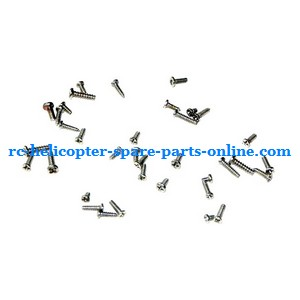 SYMA S032 S032G S32(2.4G) RC helicopter spare parts screws package set