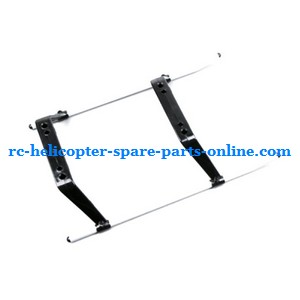 SYMA S33(2.4G) RC helicopter spare parts undercarriage (Black)