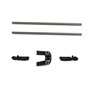 SYMA S800 S800G RC helicopter spare parts tail support bar set (Black)