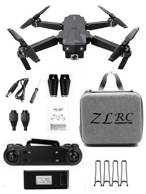 SG107 RC drone 4K WIFI dual camera with portable bag and 1 battery RTF
