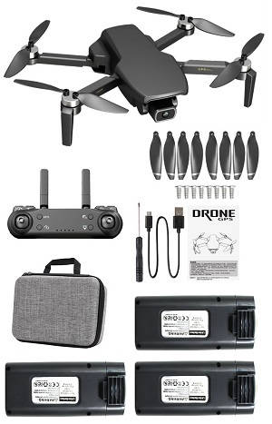 SG108 L108 drone with portable bag and 3 battery, RTF Black