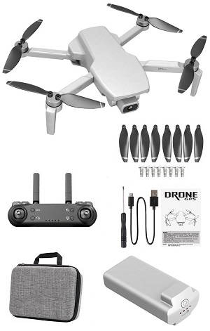 SG108 L108 drone with portable bag and 1 battery, RTF White