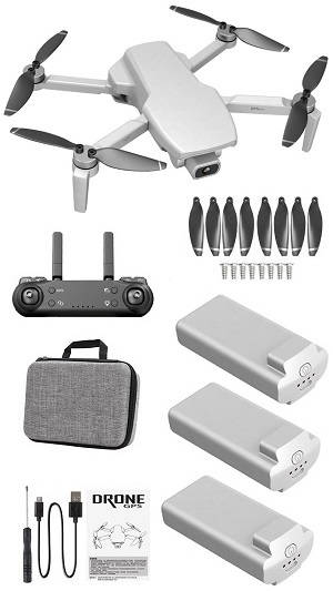 SG108 L108 drone with portable bag and 3 battery, RTF White