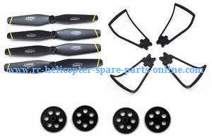 SG700 SG700-S SG700-D RC quadcopter spare parts main blades + protection frame set + main gears