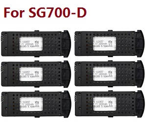SG700 SG700-S SG700-D RC quadcopter spare parts 3.7V 1600mAh battery 6pcs (For SG700-D)