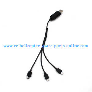 SG700 SG700-S SG700-D RC quadcopter spare parts 1 to 3 charger wire