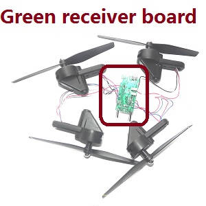 SG700 SG700-S SG700-D RC quadcopter spare parts PCB board with main blades and motors set (Green PCB)