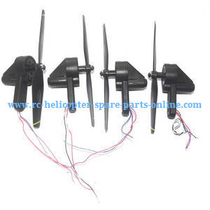 SG700 SG700-S SG700-D RC quadcopter spare parts main blades + main motors + motor decks set