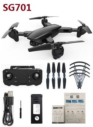 ZLRC SG701 RC drone with 1 battery RTF