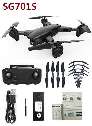 ZLRC SG701S RC drone with 1 battery RTF