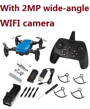 SG800 RC mini drone with 2MP wide-angle WIFI camera, RTF