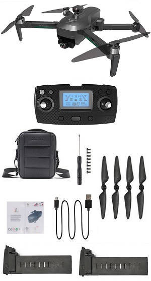 SG906 MAX Drone with portable bag and 3 battery, RTF