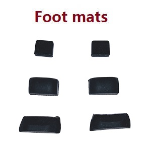 SG906 MAX Xinlin X193 CSJ X7 Pro 3 Max RC drone quadcopter spare parts bottom rubber mats