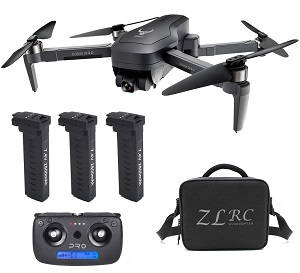 SG906 PRO RC drone with 3pcs battery and carring bag RTF