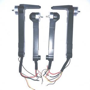 SG906 PRO RC drone quadcopter spare parts side motor bar set (Assembled)