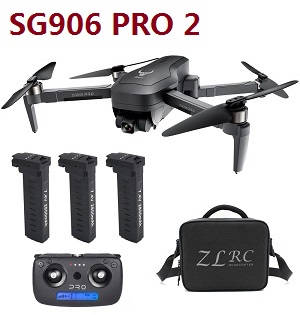 SG906 PRO 2 Xinlin X193 CST X7 Pro2 RC drone with 3 battery and portable bag RTF
