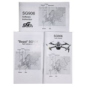 CSJ-X7 Xinlin X193 RC quadcopter spare parts English manual book
