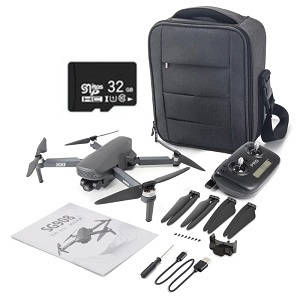 SG908 RC drone with portable bag 32G card and 1 battery RTF
